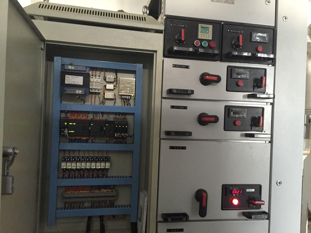 立白公司阿特拉斯160KW变频改造